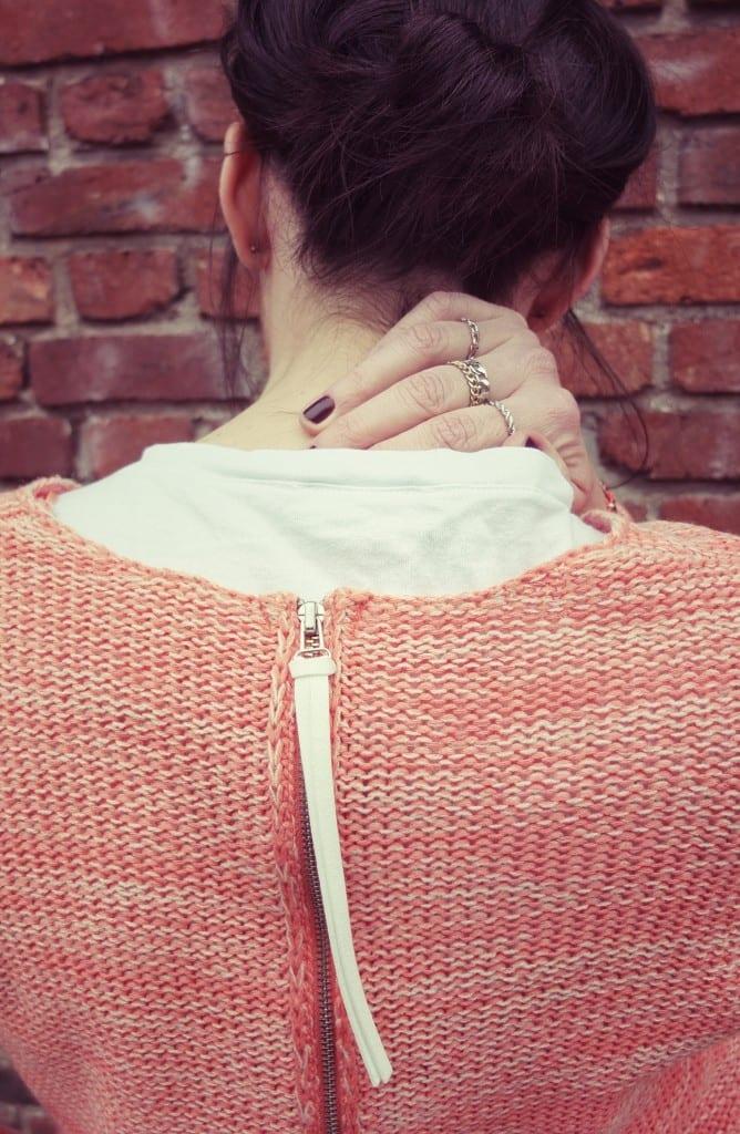 Concours foulard Esther Bonté, pull Vero Moda