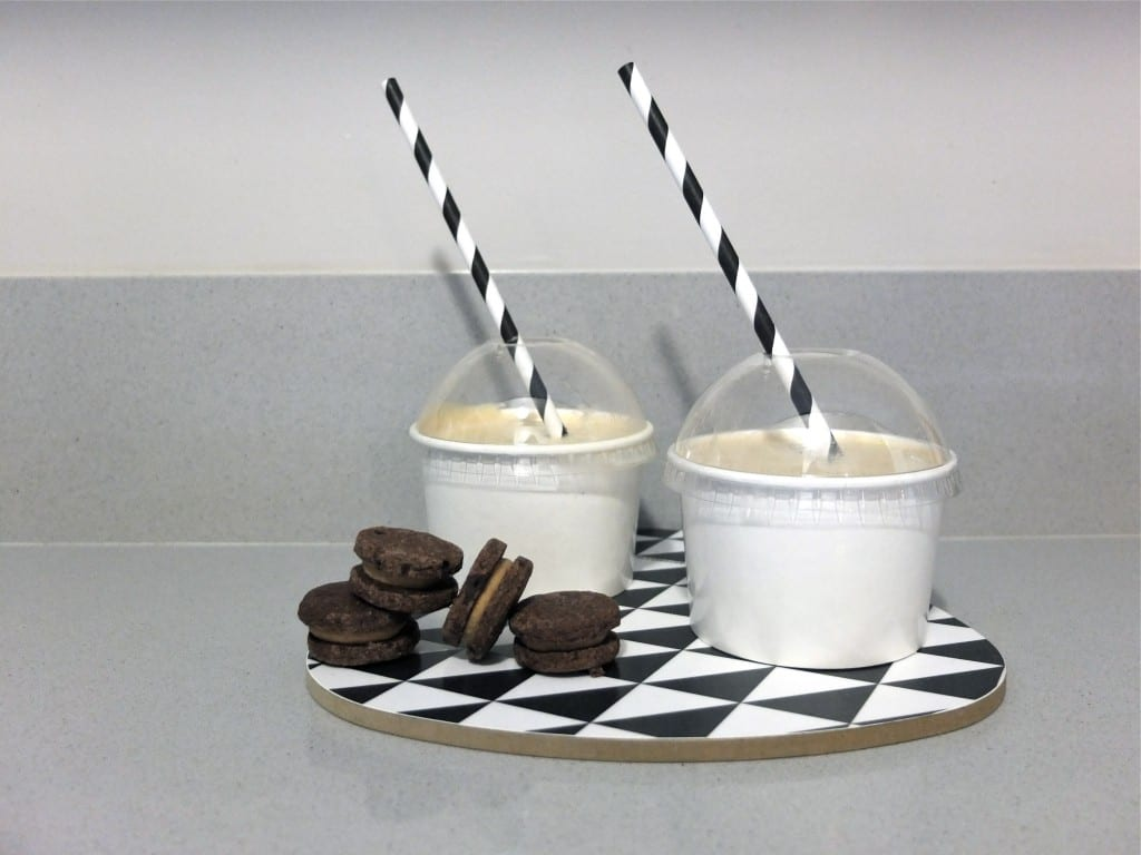 Milkshake peanut butter