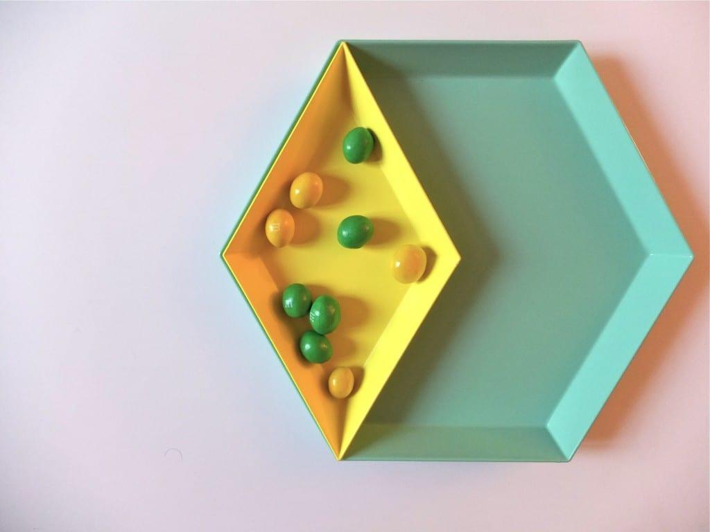 Plateaux HAY mint et citron