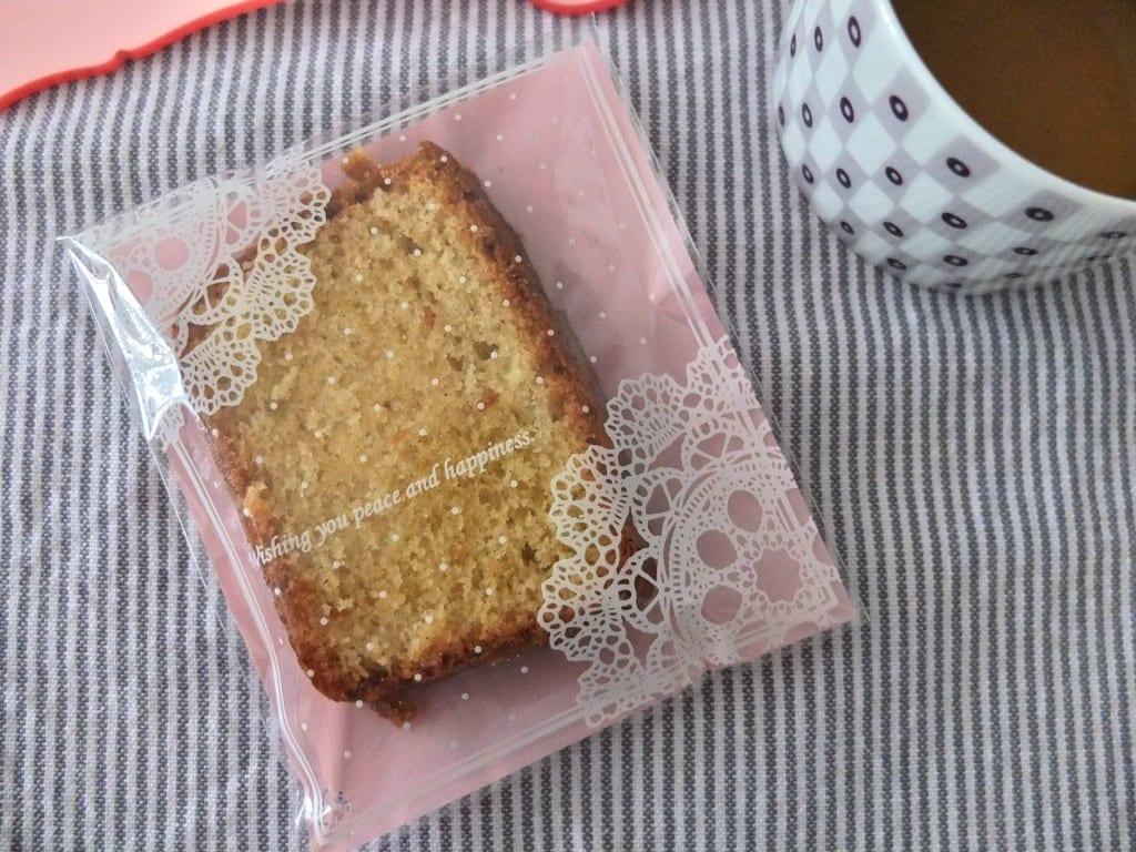 Merci - cake vanille