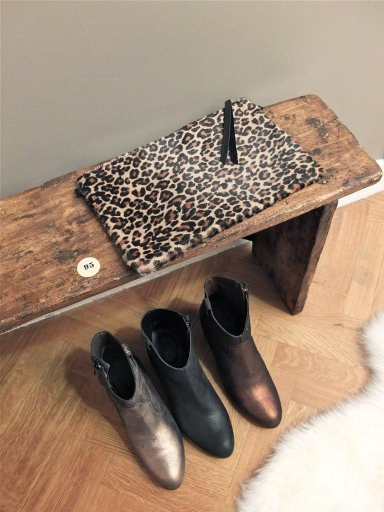 boots pailletées Loriana