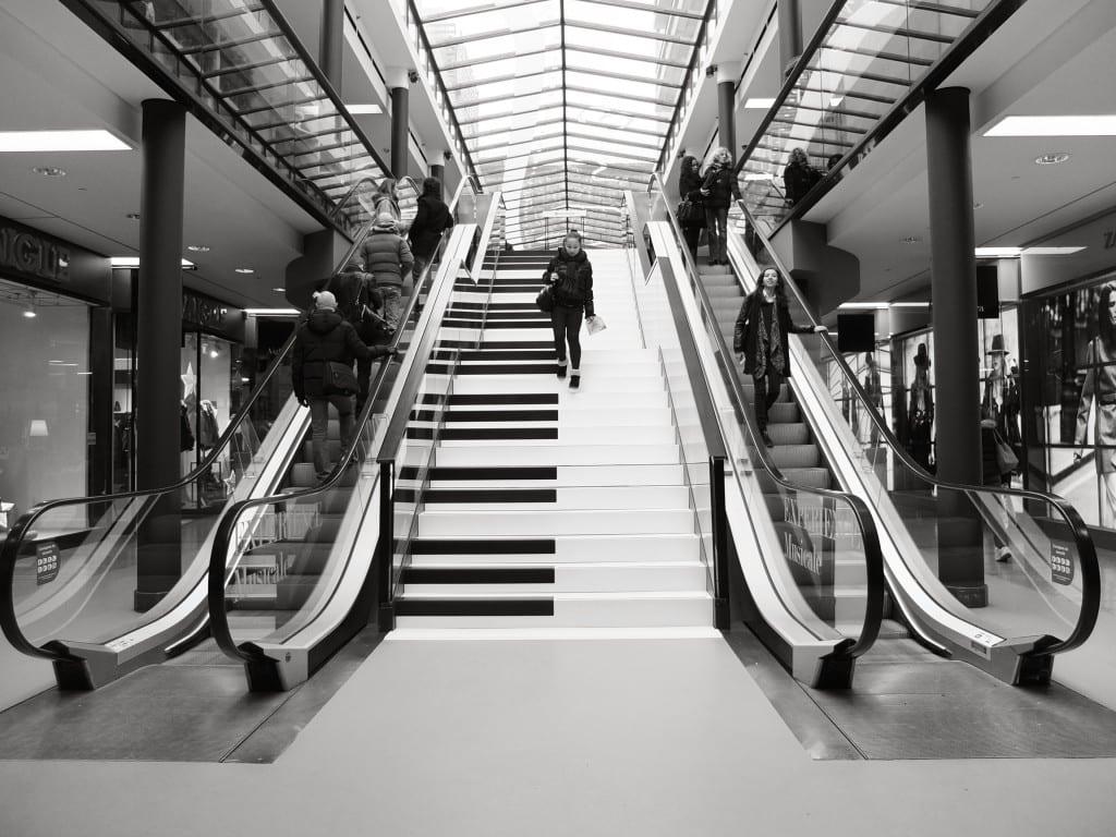 Centre commercial Les passages à Boulogne