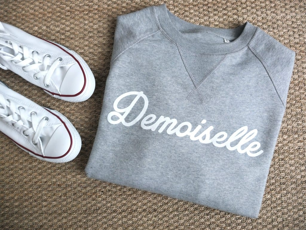 Sweat Ma demoiselle pierre