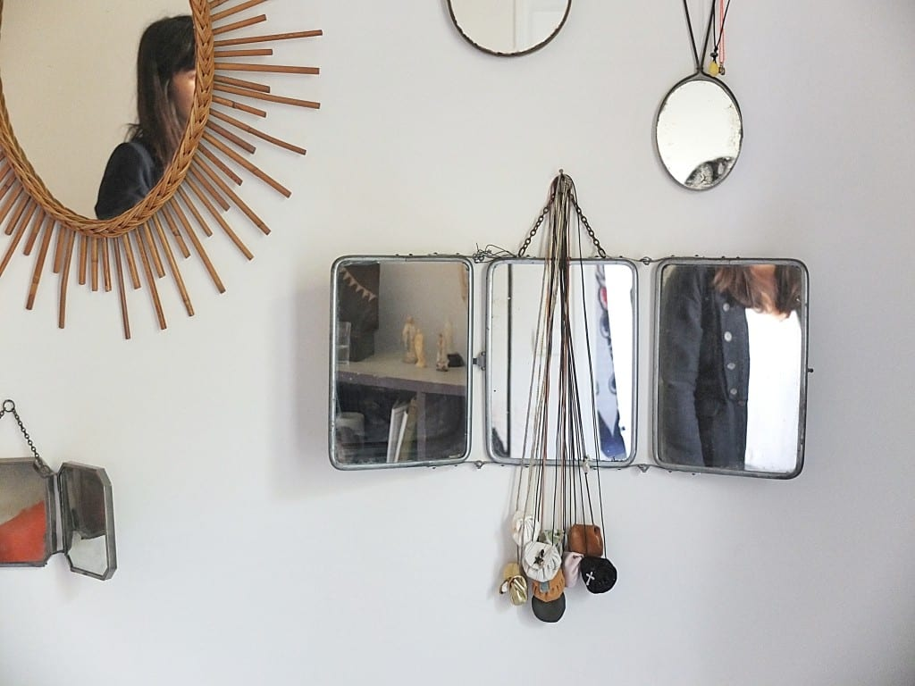 Miroirs mes petites paillettes for Miroir paillette