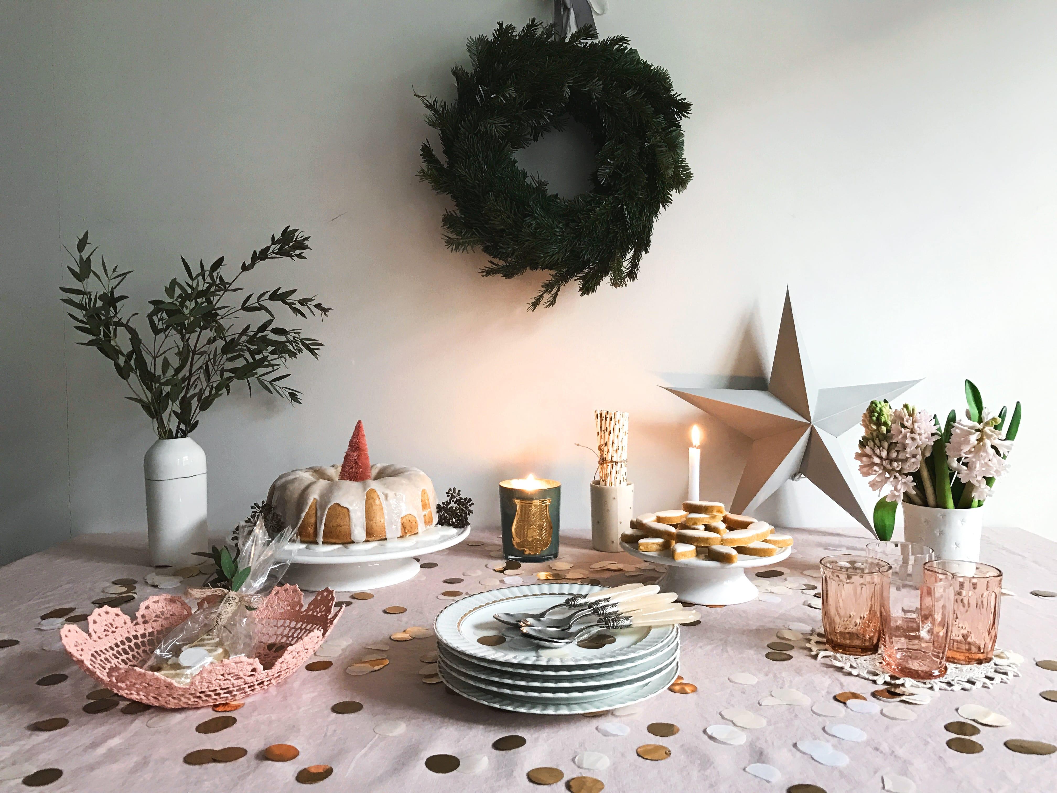 Ma table gourmande de fêtes.