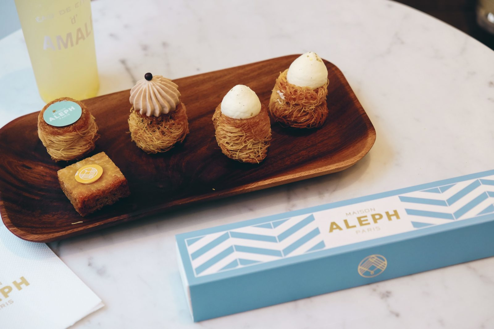 Nouveau délice : Maison Aleph