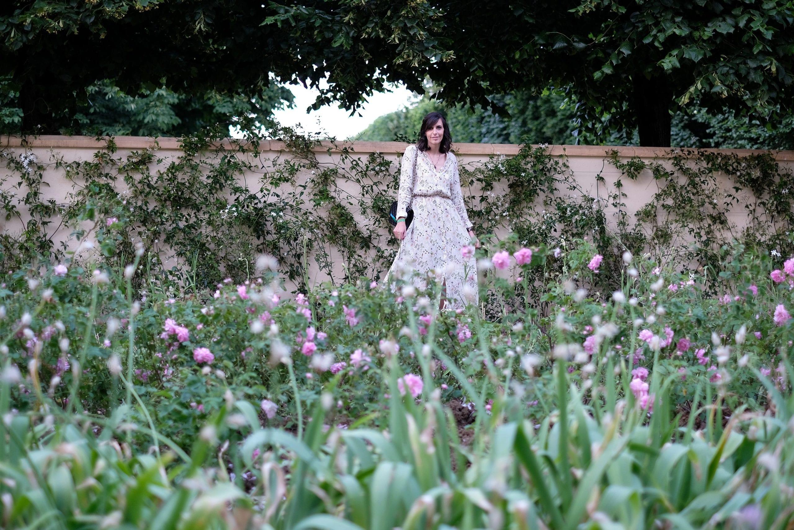 Dans les champs de Chanel.